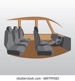 Illustration Of A Car Interior