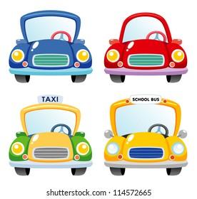 Illustration of a Car set