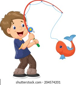 Fishing Cartoons Hd Stock Images Shutterstock