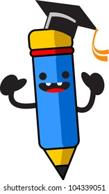 illustration of cartoon character