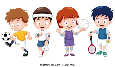 sports cartoon images  stock photos   vectors shutterstock dancing clip art animated dancing clip art pics