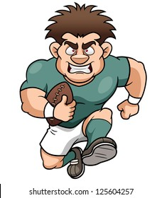 Image result for cartoon rugby