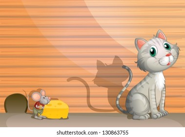 Mouse Cheese Images, Stock Photos & Vectors | Shutterstock