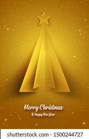 An illustration of Christmas ecard in vector art. For sending your wishing message to the one you love , invite them to a party. Message for celebrating Christmas and happy new year, etc.
