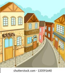 illustration Cityscape vector