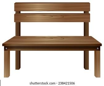 Awe Inspiring Plain Wooden Bench Stock Vectors Images Vector Art Uwap Interior Chair Design Uwaporg