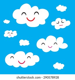 illustration of clouds