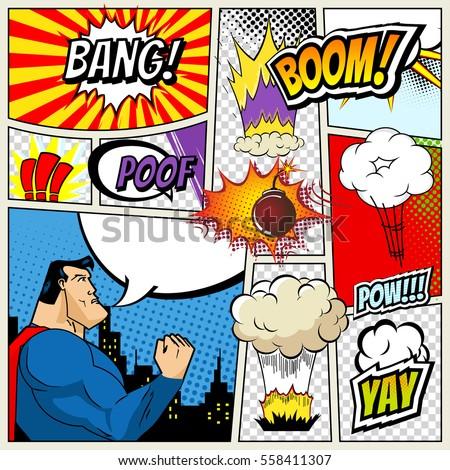 Comic book strip good, agree