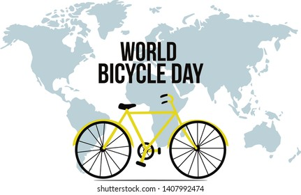 World Bicycle Day Images, Stock Photos & Vectors | Shutterstock