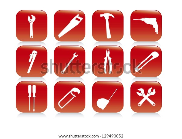 Illustration of Construction Equipment, Construction Icons, Site, worker, tools, vector illustration
