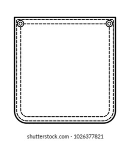 Illustration of a contour pocket