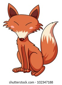 Illustration of a cunning fox
