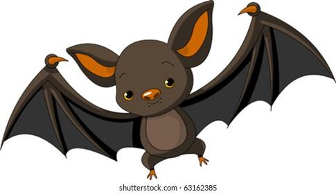 flying bat cartoon images stock photos vectors shutterstock rh shutterstock com cartoon baseball bat pictures cartoon bat images