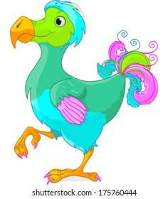 Illustration of cute Dodo bird