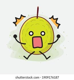 An illustration of Cute Entawak Jackfruit Mascot Character