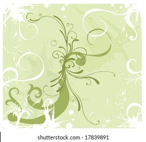 Illustration of a decorative background