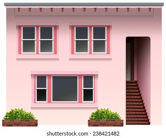 Illustration of a design of a house