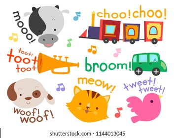 Animal Sounds Images, Stock Photos & Vectors | Shutterstock
