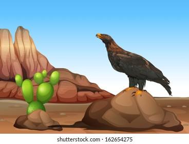 Illustration of an eagle