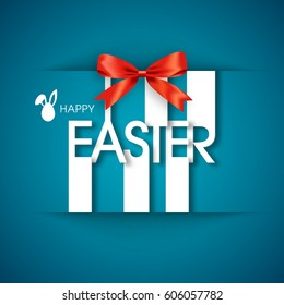 Illustration of Easter,fifth April vector.