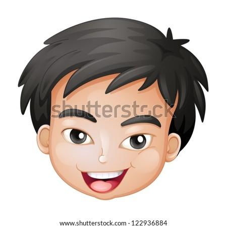 Bambino con tanti capelli ke
