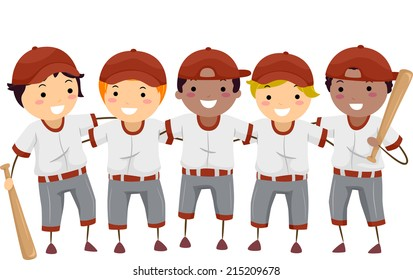 baseball cartoon images stock photos vectors shutterstock rh shutterstock com cartoon baseball players cartoon baseball player