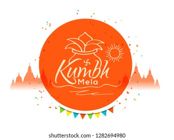 illustration Of Festival Of kumbh.
