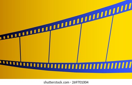 Illustration of the film strip icon