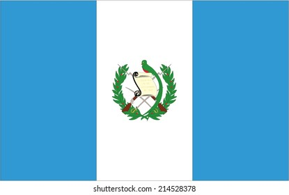 An Illustration of the flag of Guatemala