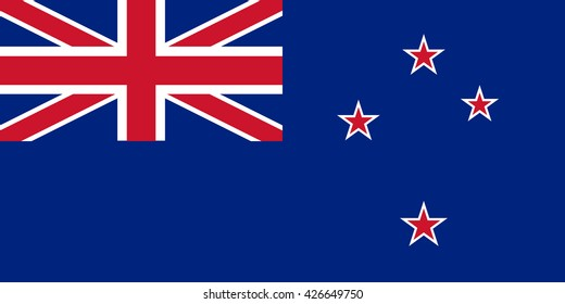 An Illustration of the flag of New Zealand