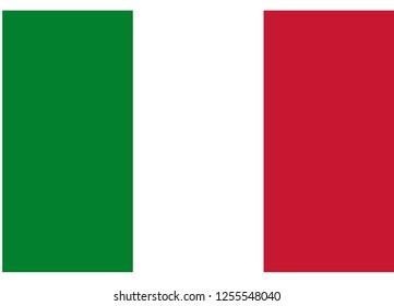 illustration of flag vector,italy flag