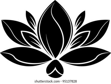 illustration Flower Silhouette
