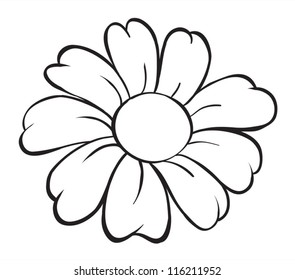 1000+ Black White Cartoon Flowers Stock Images, Photos