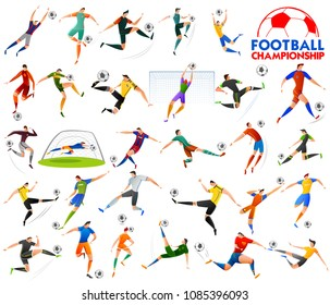 illustration of Football Championship Cup soccer sports background for 2018