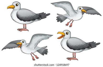 cartoon seagull images stock photos vectors shutterstock rh shutterstock com cartoon seagull template cartoon seagull clip art