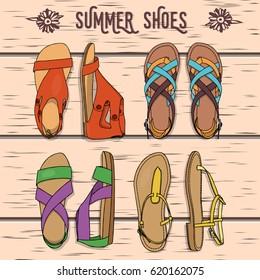 Hecho a mano personalizado Flip Flop Zapatos De Baile cesta signo Muchos Colores Disponibles