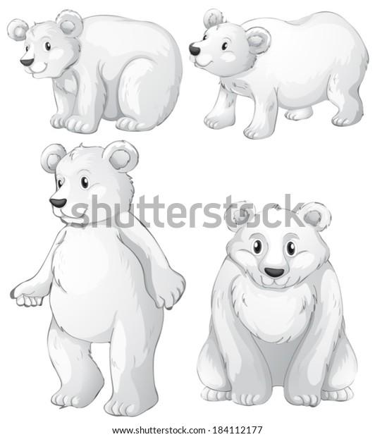 Polar Bear Clip Art - Polar Bear Image   Polar bear craft, Polar bear  theme, Bear crafts