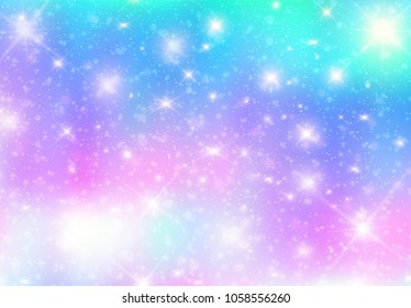 illustration galaxy fantasy background pastel 260nw 1058556260