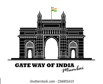An illustration of Gate way of India