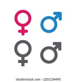 illustration of gender symbol