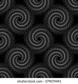 illustration of geometric seamless pattern without gradient