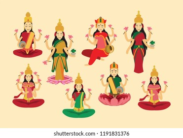 Illustration of goddess durga. Navaratri , is a nine nights (and ten days) Hindu festival, celebrated in the autumn every year.