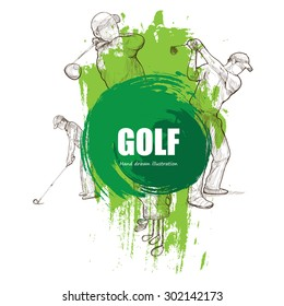 Illustration of Golf.