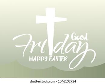 Illustration Of Good Friday Background.