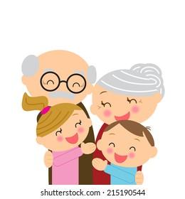 Illustration  for Grandparents' Day