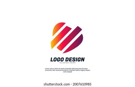 Illustration of graphic abstract creative traingle logo icon design modern digital style illustration motion flow vector