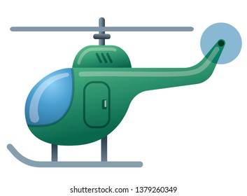 illustration of the green helicopter icon