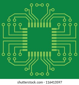 Fantastic Circuit Board Layout Images Stock Photos Vectors Shutterstock Wiring 101 Ferenstreekradiomeanderfmnl