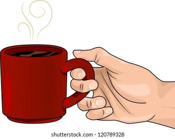Transparent Hot Chocolate Clip Art - Mug Of Coffee Clipart, HD Png Download  - kindpng