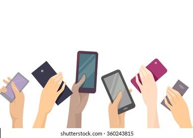 Mobile Phone Clipart Images Stock Photos Vectors Shutterstock